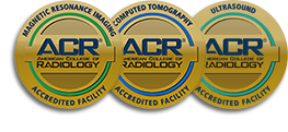 Accredited by the ACR - American College of Radiology