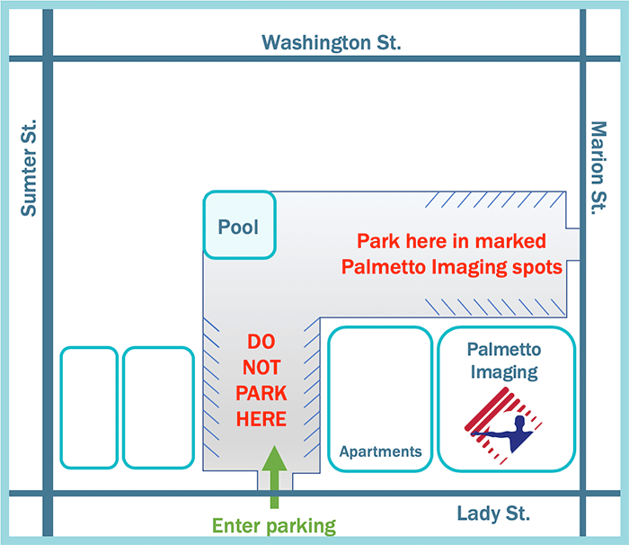 Palmetto Imaging Map
