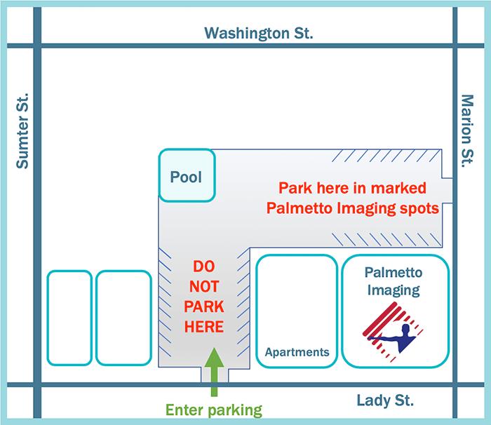 Palmetto Imaging Map