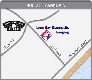 Map of Long Bay Diagnostic Imaging