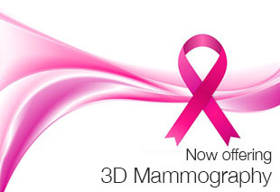 Now offering 3D Mammograms