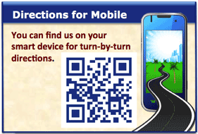 Directions from your mobile phone